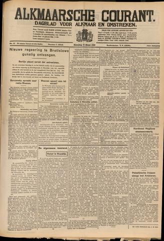 Alkmaarsche Courant 1939-03-13
