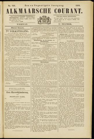Alkmaarsche Courant 1889-12-13
