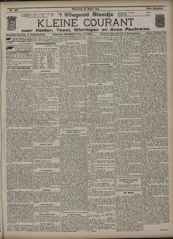 Vliegend blaadje : nieuws- en advertentiebode voor Den Helder 1910-03-30