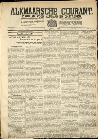 Alkmaarsche Courant 1933-03-27