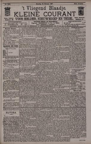 Vliegend blaadje : nieuws- en advertentiebode voor Den Helder 1897-02-13