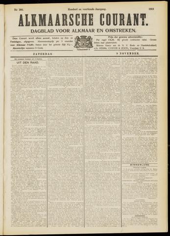 Alkmaarsche Courant 1912-11-09