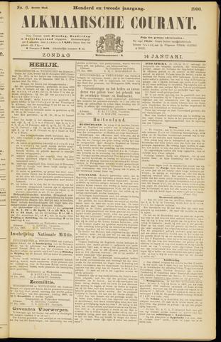 Alkmaarsche Courant 1900-01-14