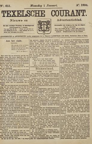 Texelsche Courant 1894-01-01
