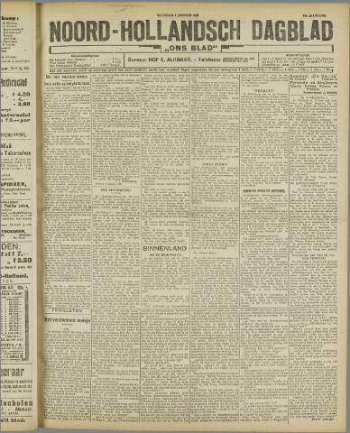 Ons Blad : katholiek nieuwsblad voor N-H 1922-01-09