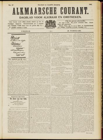 Alkmaarsche Courant 1910-02-25