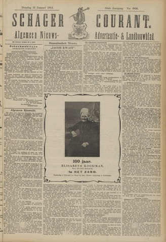 Schager Courant 1911-01-31
