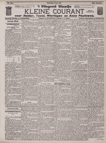 Vliegend blaadje : nieuws- en advertentiebode voor Den Helder 1912-06-08