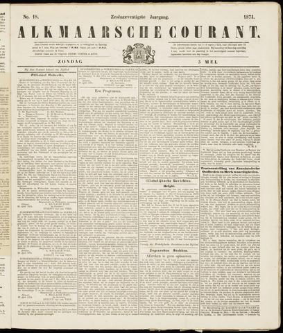 Alkmaarsche Courant 1874-05-03