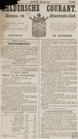 Heldersche Courant 1868-11-28