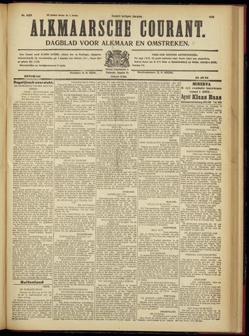 Alkmaarsche Courant 1928-06-19