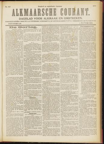 Alkmaarsche Courant 1917-11-01