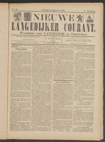 Nieuwe Langedijker Courant 1898-08-21