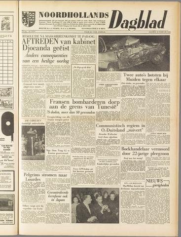 Noordhollands Dagblad : dagblad voor Alkmaar en omgeving 1958-02-10
