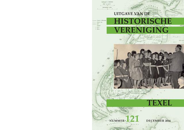 Uitgave Historische Vereniging Texel 2016-12-01