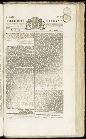 Alkmaarsche Courant 1841-04-26