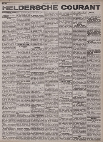 Heldersche Courant 1917-10-04