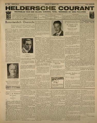 Heldersche Courant 1934-01-16