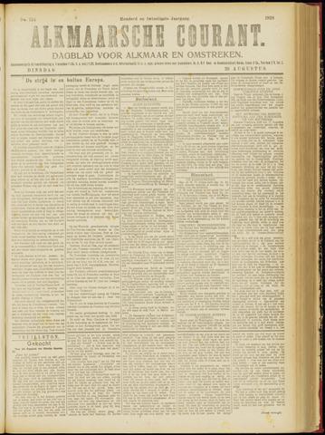Alkmaarsche Courant 1918-08-20