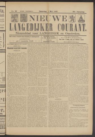 Nieuwe Langedijker Courant 1920-05-01
