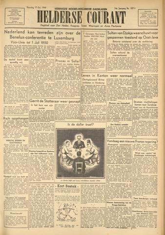 Heldersche Courant 1949-10-17