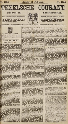 Texelsche Courant 1900-02-11