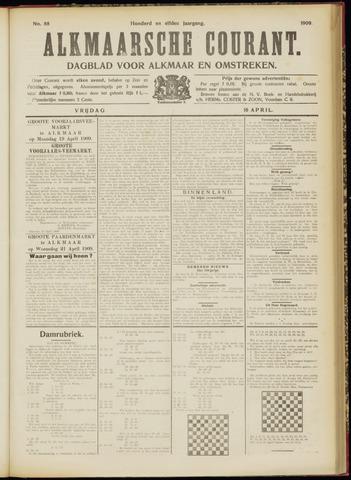 Alkmaarsche Courant 1909-04-16