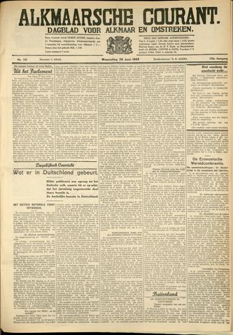 Alkmaarsche Courant 1933-06-28