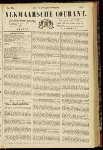 Alkmaarsche Courant 1884-02-08