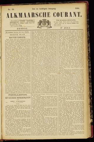 Alkmaarsche Courant 1884-07-27
