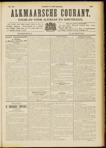 Alkmaarsche Courant 1909-08-19