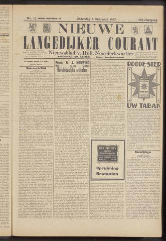 Nieuwe Langedijker Courant 1927-02-05