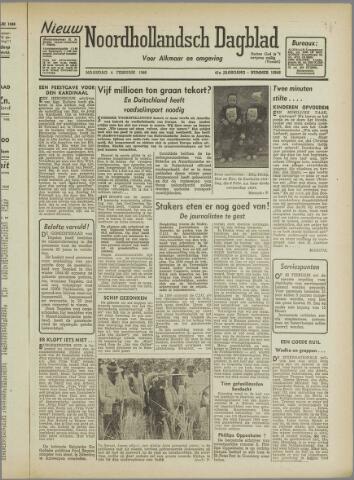 Nieuw Noordhollandsch Dagblad : voor Alkmaar en omgeving 1946-02-04