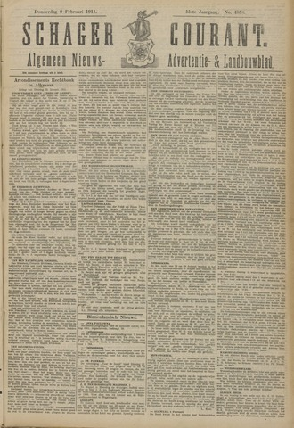 Schager Courant 1911-02-02
