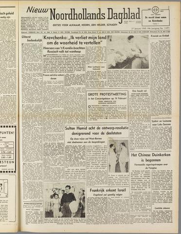 Nieuw Noordhollandsch Dagblad : voor Alkmaar en omgeving 1949-01-25