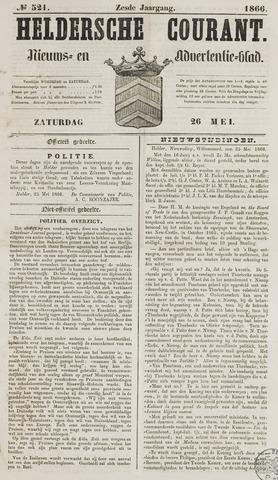 Heldersche Courant 1866-05-26