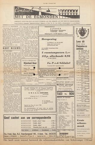 Contact met de Egmonden 1965-03-18