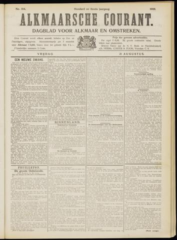 Alkmaarsche Courant 1908-08-21