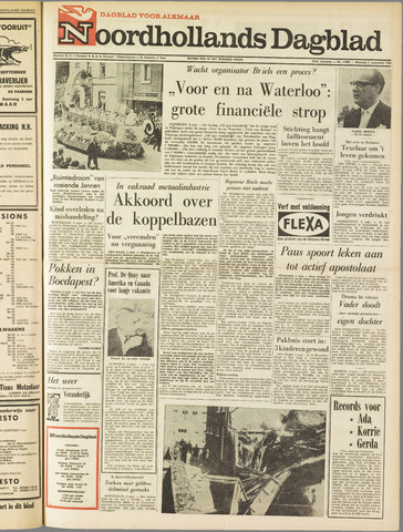 Noordhollands Dagblad : dagblad voor Alkmaar en omgeving 1963-09-02