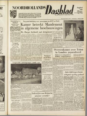 Noordhollands Dagblad : dagblad voor Alkmaar en omgeving 1954-10-06