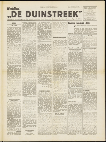 De Duinstreek 1948-11-05