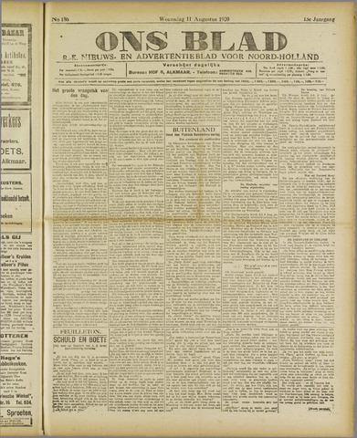 Ons Blad : katholiek nieuwsblad voor N-H 1920-08-11