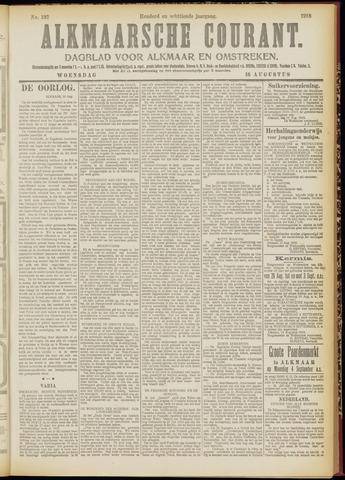 Alkmaarsche Courant 1916-08-16