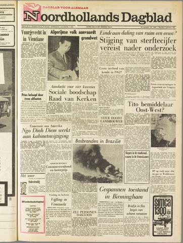 Noordhollands Dagblad : dagblad voor Alkmaar en omgeving 1963-09-09