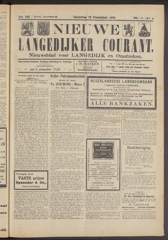 Nieuwe Langedijker Courant 1924-12-13