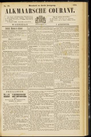Alkmaarsche Courant 1901-08-07