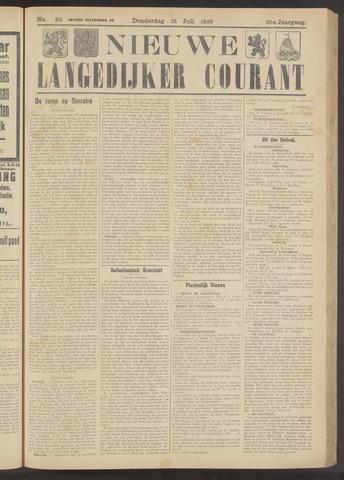 Nieuwe Langedijker Courant 1926-07-15