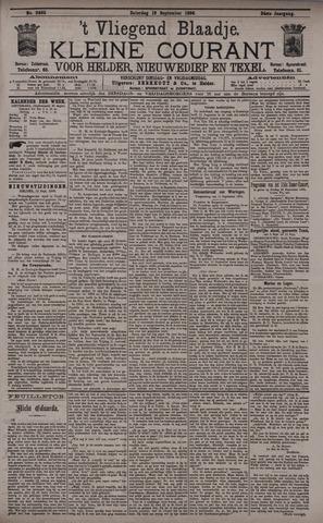Vliegend blaadje : nieuws- en advertentiebode voor Den Helder 1896-09-19