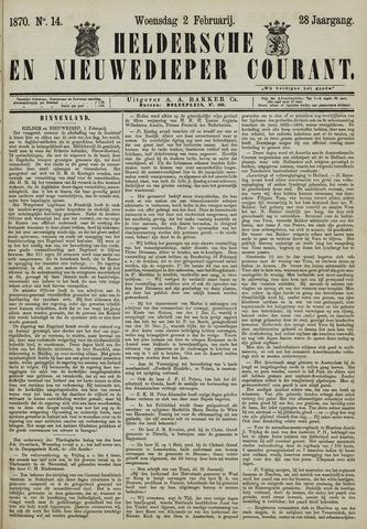 Heldersche en Nieuwedieper Courant 1870-02-02