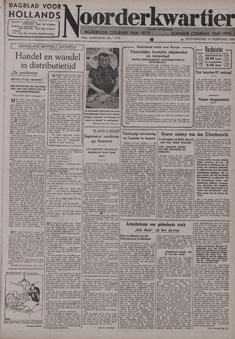 Dagblad voor Hollands Noorderkwartier 1942-02-19
